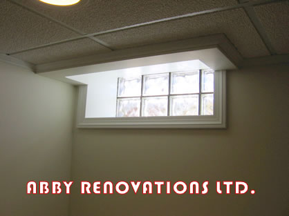basement windows installation